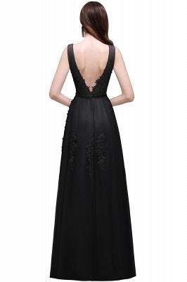 Elegant Evening Dresses Long V Neck | Prom dresses with lace_8