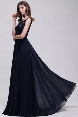 Simple evening dress | Evening wear prom dresses long cheap_8