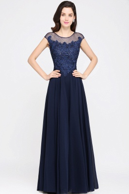Elegant evening dresses long | Simple evening wear_1