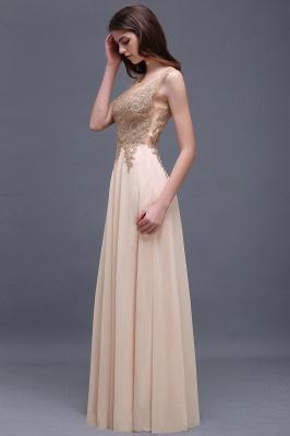 Designer Evening Dresses Long Cheap | Evening wear gold_8