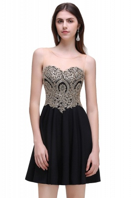 Elegant short evening dresses | Cocktail dresses black_4