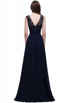 Simple evening dress | Evening wear prom dresses long cheap_5