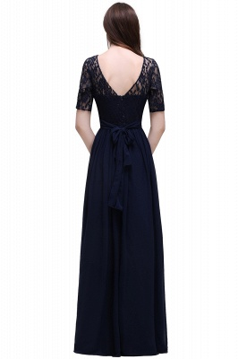 Simple evening dress long cheap | Prom dresses with lace_11