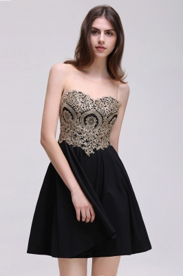 Elegant short evening dresses | Cocktail dresses black_6