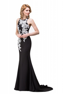 Evening dress long black | Festive clothes women_8