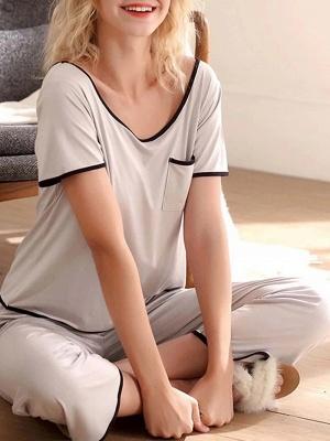 Terrycloth pajamas women | Maternity pajamas 2 pieces_1
