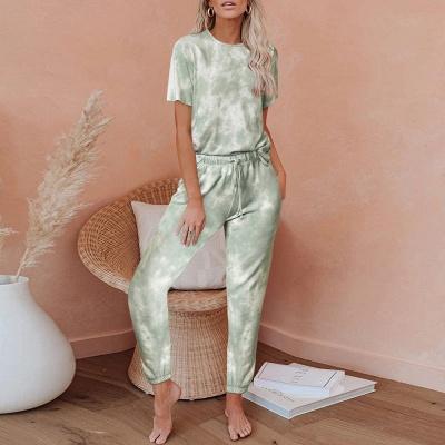 Gradient nightwear women | Schiesser pajamas 2 parts_4