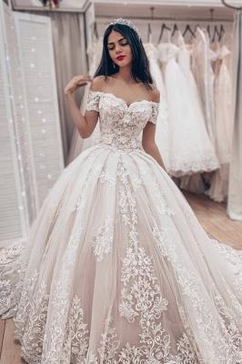 Luxus Brautkleider Prinzessin | Spitze Hochzeitskleider Online Kaufen