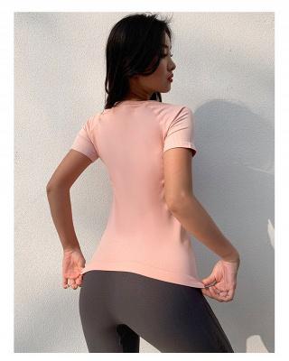 Hochwertige Yoga Kleidung Oberteil | Damen Kleider für Sports_5