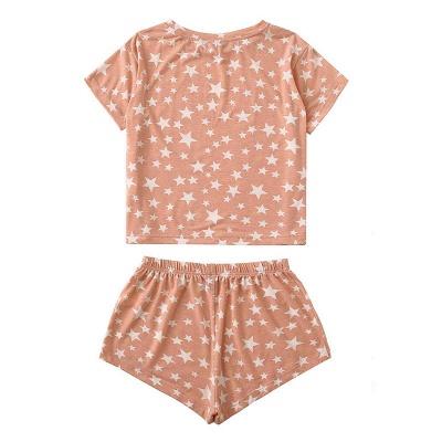 2 Teilig Pyjama Gradient | Damen Schlafanzüge Günstig_3