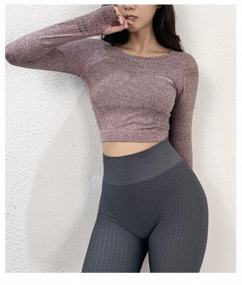 Fancy yoga clothes bra top yoga outfits for women_5