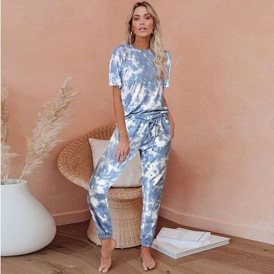 Gradient Nachtwäsche Damen | Schiesser Schlafanzug 2 Teile