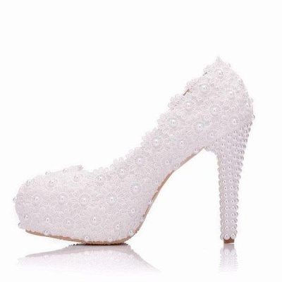 White wedge wedding shoes | Ivory wedding shoes cheap_1