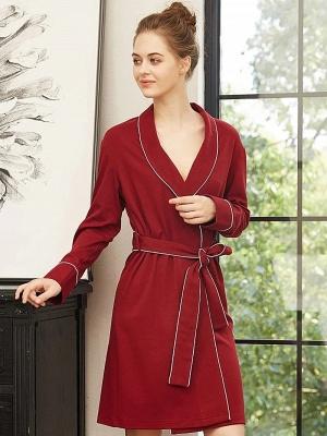 Red pajamas girl | Nightwear women long_2