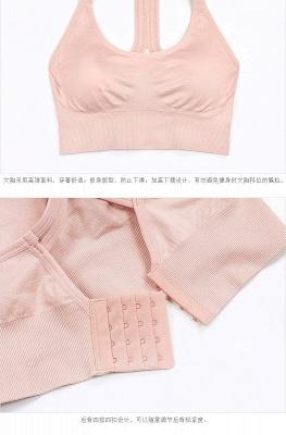 2 pack women's bustier organic cotton sports bra top top_6