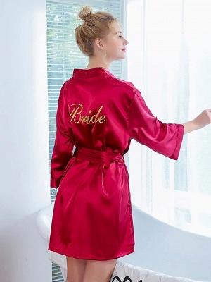 One piece silk pajamas women red | Girls pajamas summer_2