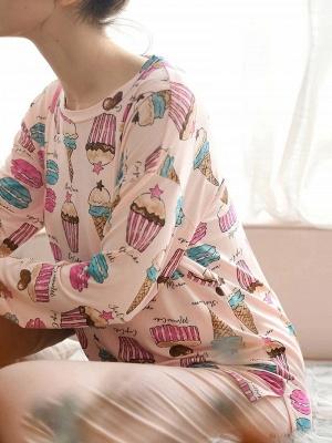 Pyjama Damen Lang | Feine Nachtwäsche Günstig_4
