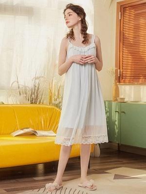 Nachtwäsche für Damen Chiffon | Einteiler Schlafanzug Mädchen_3
