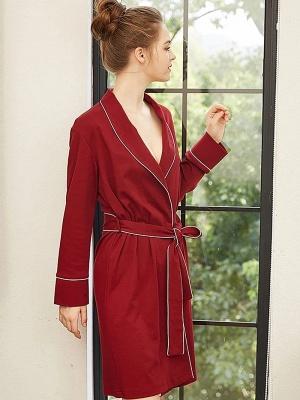 Red pajamas girl | Nightwear women long_3