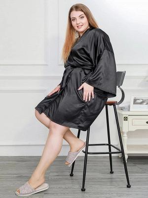 Schwarz Schlafanzug Damen Lang Große Größe Online Kaufen_4