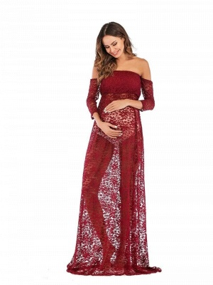 Red dresses for pregnant women | Pregnant clothes cheap_4