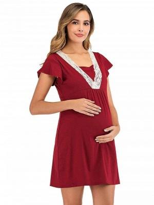 Kleider für Schwangere | Maxikleid Sommerkleider Schwanger_4