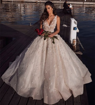 Luxury Wedding Dresses A Line Lace | Buy cheap wedding dresses online_2