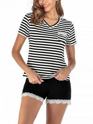 Pyjama Schlafanzug Damen | 2 Teillige Nachtwäsche Online_3