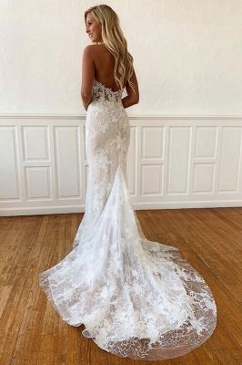 Elegante Hochzeitskleider Mit Spitze | Brautkleider Meerjungfrau Online_2