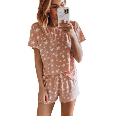 2 Teilig Pyjama Gradient | Damen Schlafanzüge Günstig_2