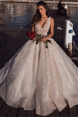 Luxury Wedding Dresses A Line Lace | Buy cheap wedding dresses online_1