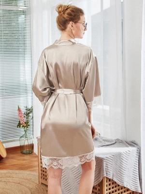 Satin Schlafanzug Damen Günstig | Schiesser Nachtwäsche Elegant_2