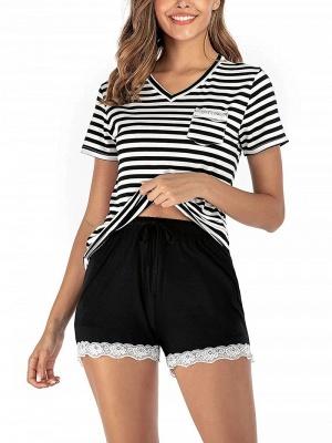 Pyjama Schlafanzug Damen | 2 Teillige Nachtwäsche Online_4