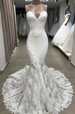 Designer wedding dresses mermaid | Wedding dresses with lace online_1