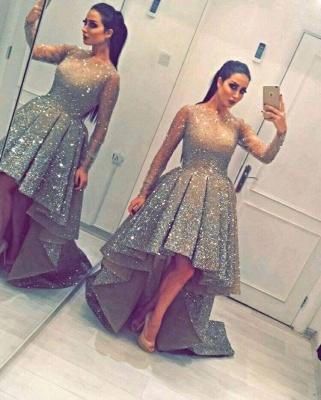 Luxurious Abiballkleider Kristal A linie Abendkleider Ballkleider_2