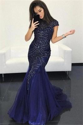 Elegante Abendkleider Lang Glitzer | Festtagskleider Günstig Online_1