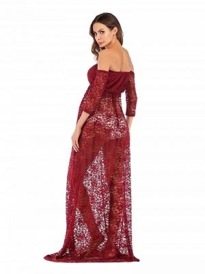Rote Kleider für Schwangere | Schwanger Kleidung Günstig_2