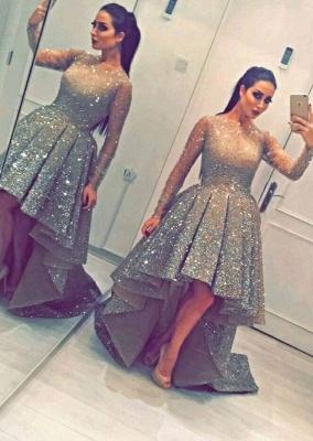 Luxurious Abiballkleider Kristal A linie Abendkleider Ballkleider_1
