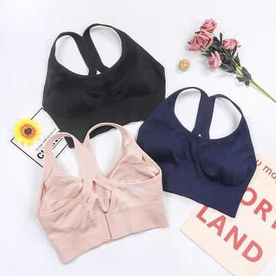 2 pack women's bustier organic cotton sports bra top top_4