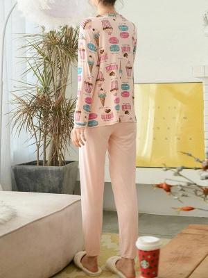 Pyjama Damen Lang | Feine Nachtwäsche Günstig_2
