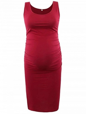 Red Pregnant Dresses | Cheap clothes online_1