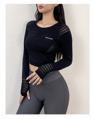 Fancy yoga clothes bra top yoga outfits for women_3