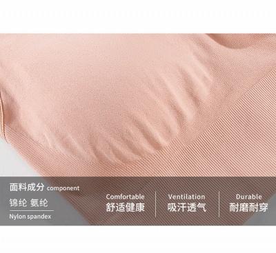 2 pack women's bustier organic cotton sports bra top top_5