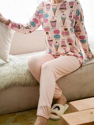 Pyjama Damen Lang | Feine Nachtwäsche Günstig_1