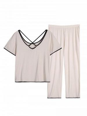 Terrycloth pajamas women | Maternity pajamas 2 pieces_2