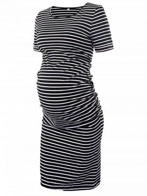 Silber Schwangere Kleider Online | Sommerkleider für Schwangere_2