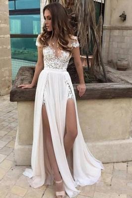 Schlichte Brautkleider Mit Spitze | Brautmoden Günstig Online