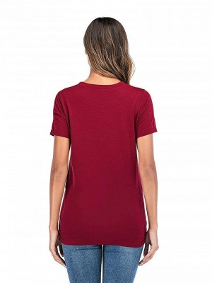 Rote Sommerkleider für Schwangere | Kleidung für Schwangere Frauen_2