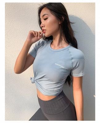 Hochwertige Yoga Kleidung Oberteil | Damen Kleider für Sports_6