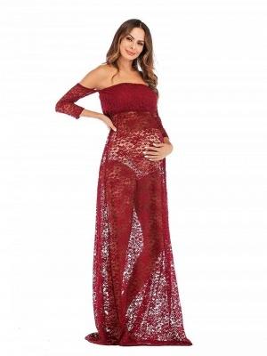 Rote Kleider für Schwangere | Schwanger Kleidung Günstig_3